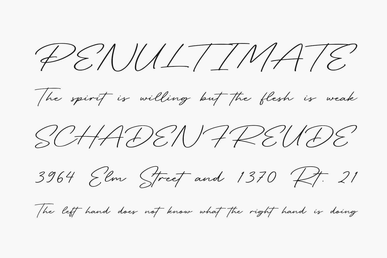 Retro Signature Free Font
