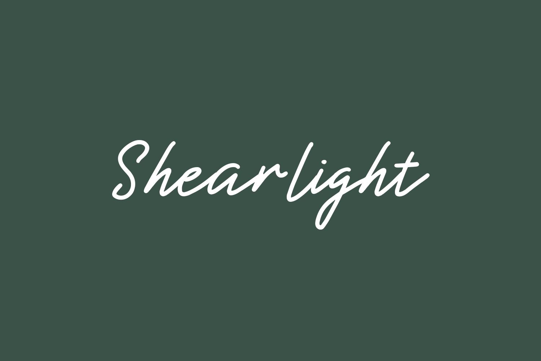 Shearlight Free Font
