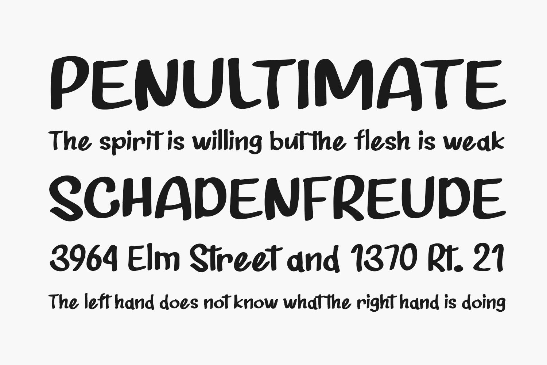 Shunshise Free Font