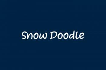 Snow Doodle Free Font