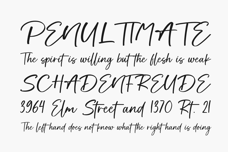 Soul Signature Free Font