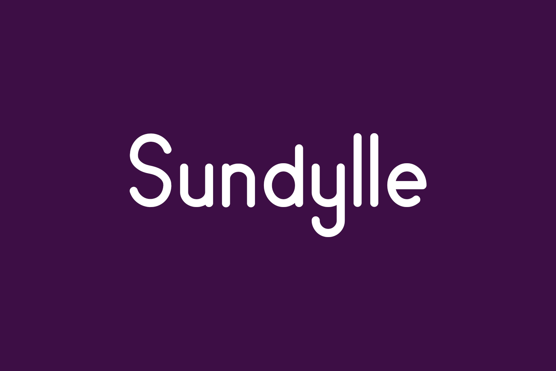 Sundylle Free Font