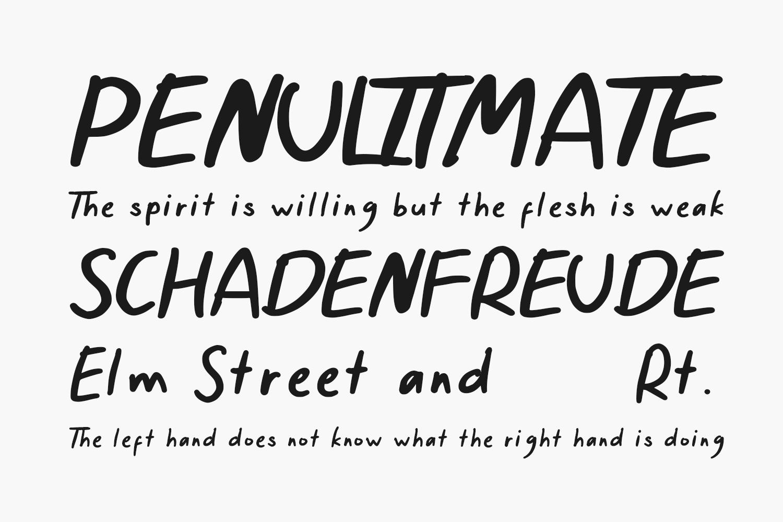 Tentang Nanti Free Font