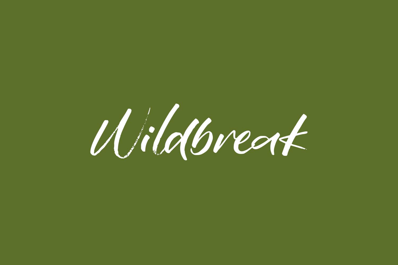 Wildbreak Free Font