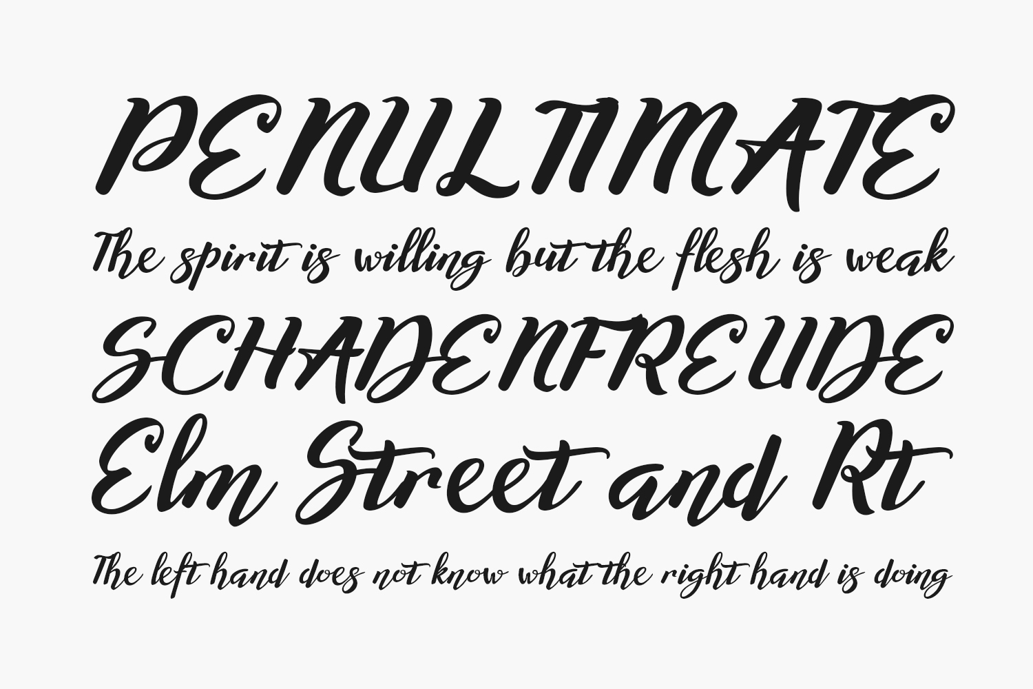 Willynta Free Font
