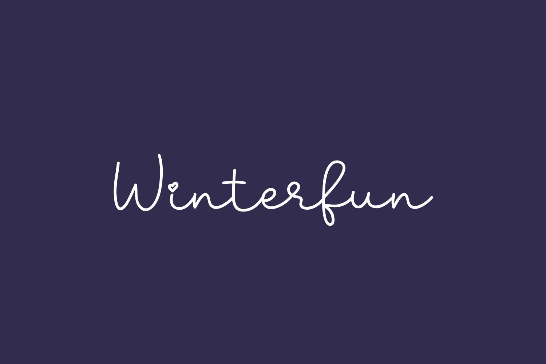 Winterfun Free Font