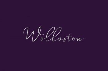 Wollaston Free Font