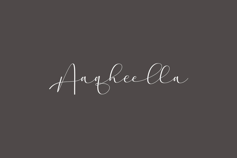 Aaqheella Free Font