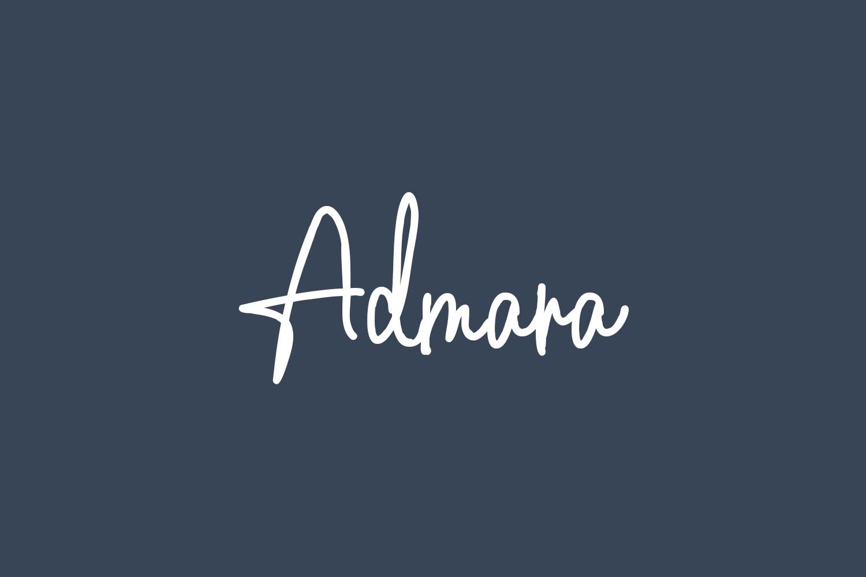 Admara Free Font