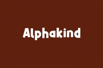 Alphakind Free Font