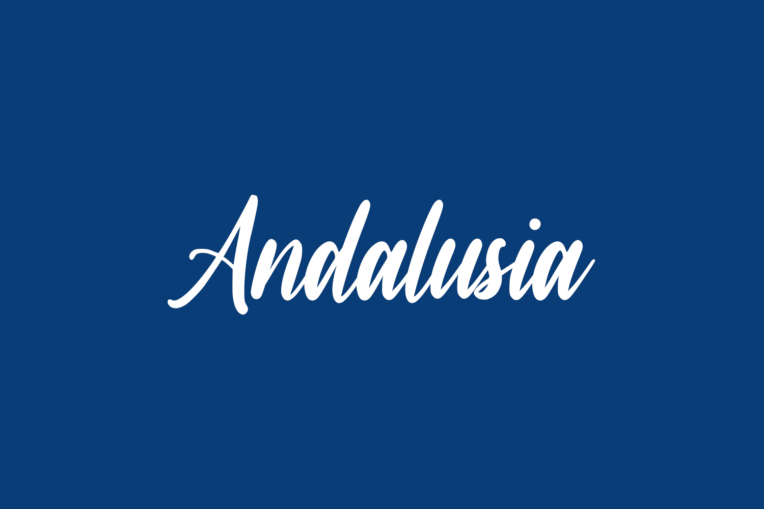 Andalusia Free Font