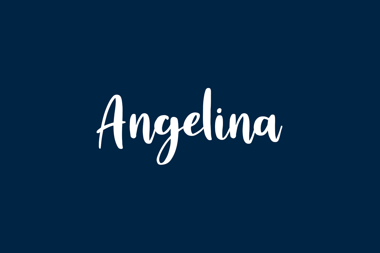 Angelina Free Font