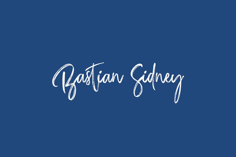 Bastian Sidney Free Font