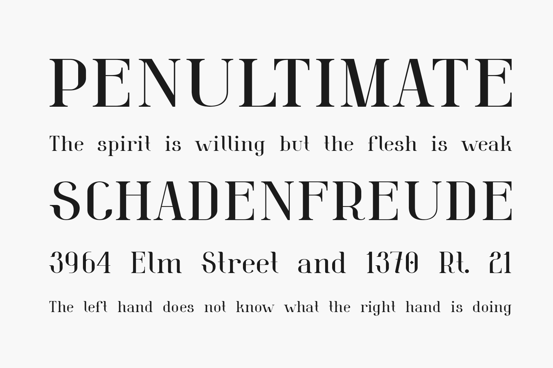 Belleview Free Font
