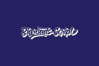 Bigroads Script Free Font