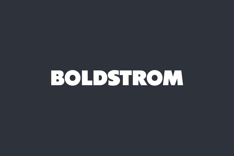 Boldstrom Free Font