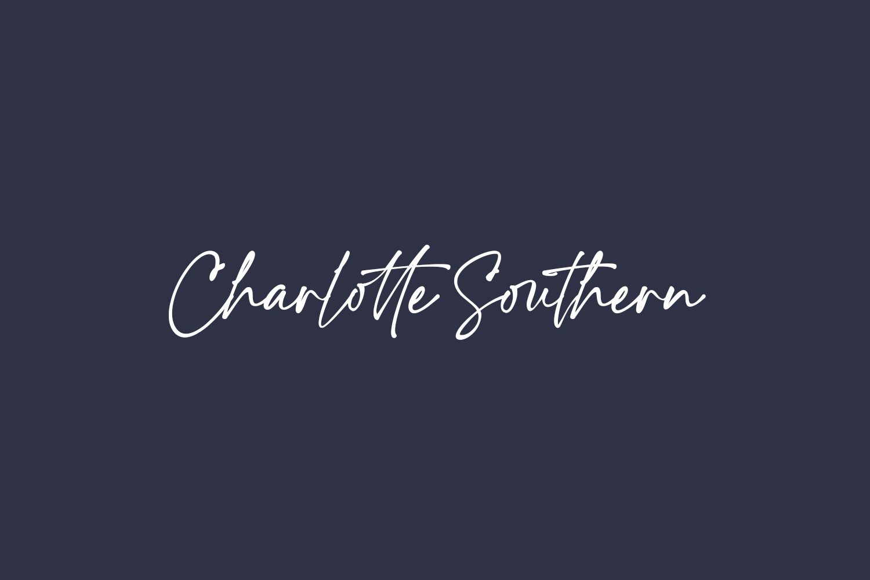 Charlotte Southern Free Font