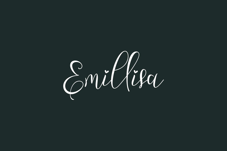 Emillisa Free Font