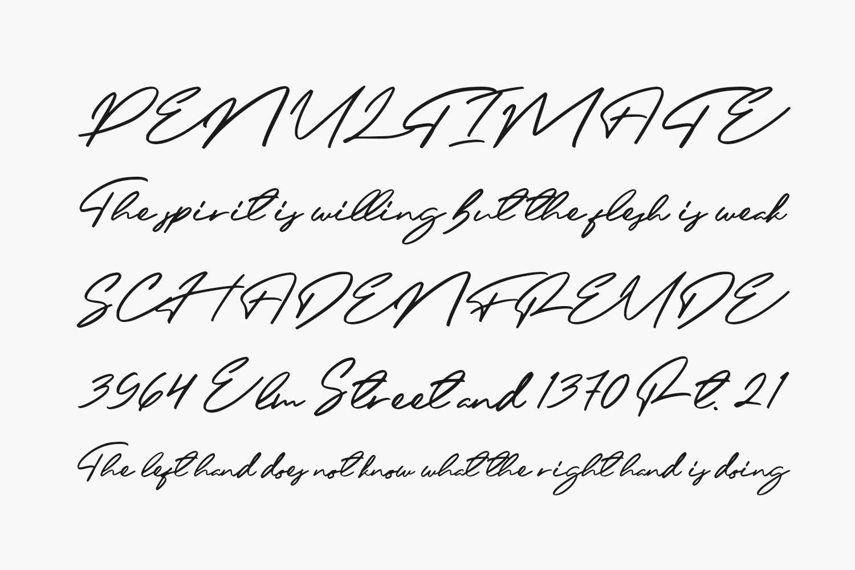 Felisha Roseland Free Font