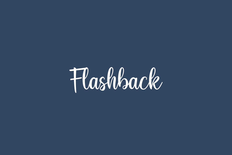 Flashback Free Font