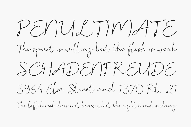 Floristy Free Font