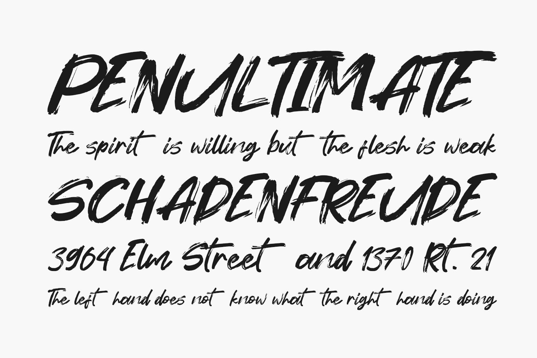 Forturn Free Font
