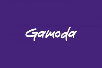 Gamoda Free Font