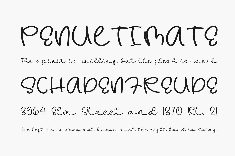 Hanimoon Free Font