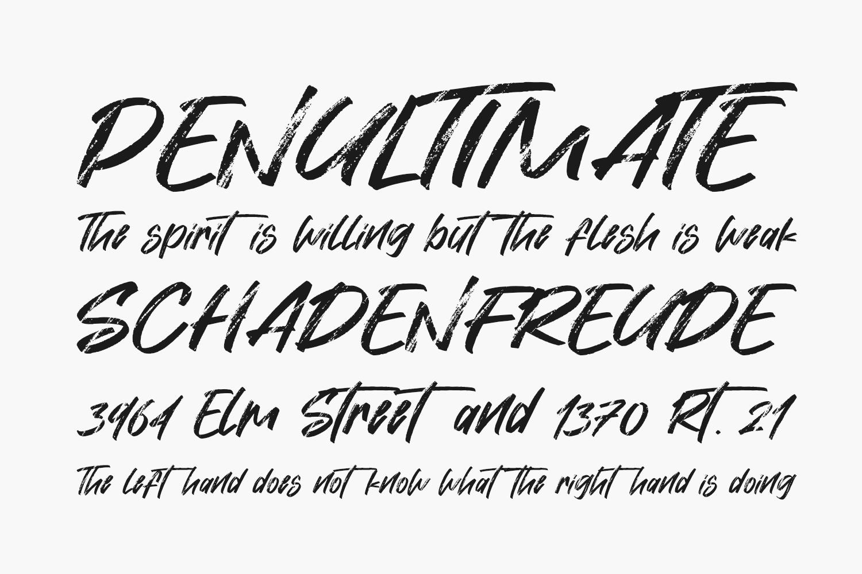 Hiatus Free Font