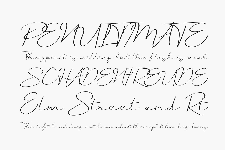 Just Signature Free Font
