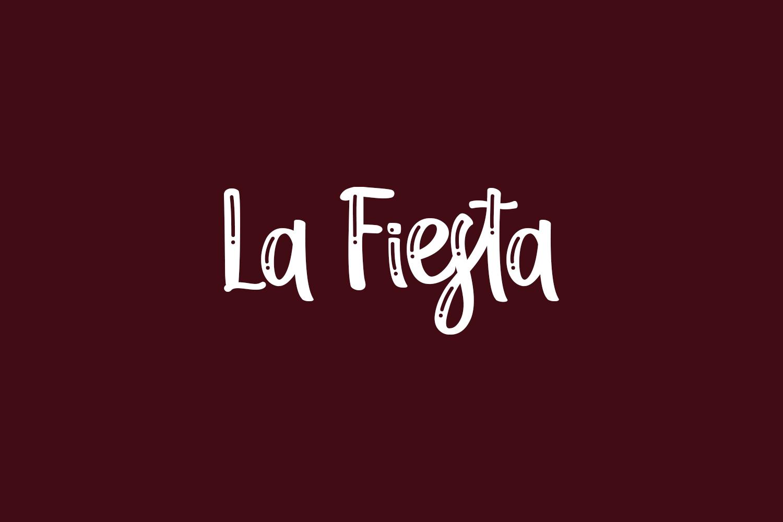 La Fiesta Free Font