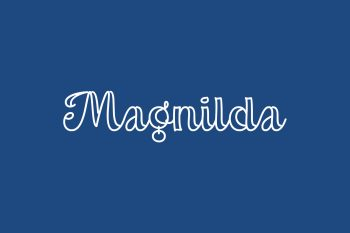 Magnilda Free Font