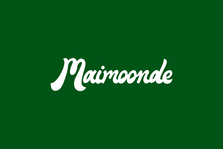 Maimoonde Free Font