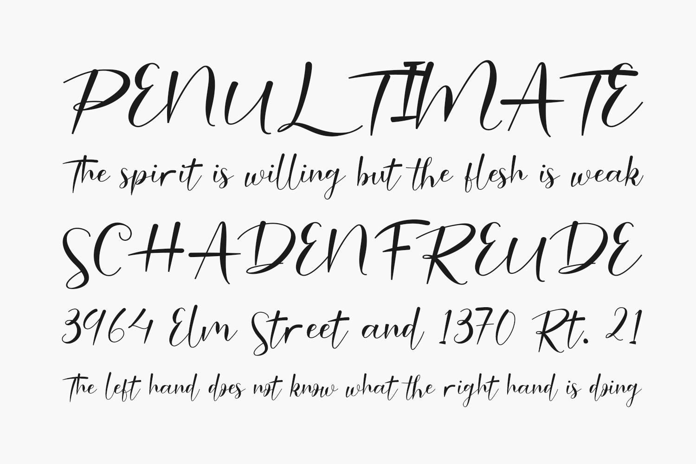 Malinda Free Font