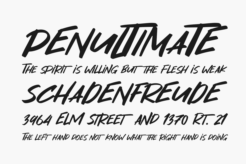 Masker Area Free Font