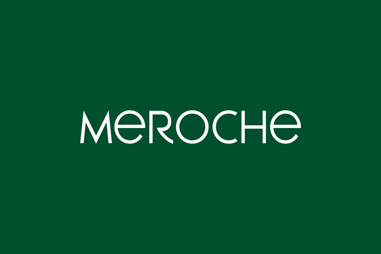 Meroche Free Font