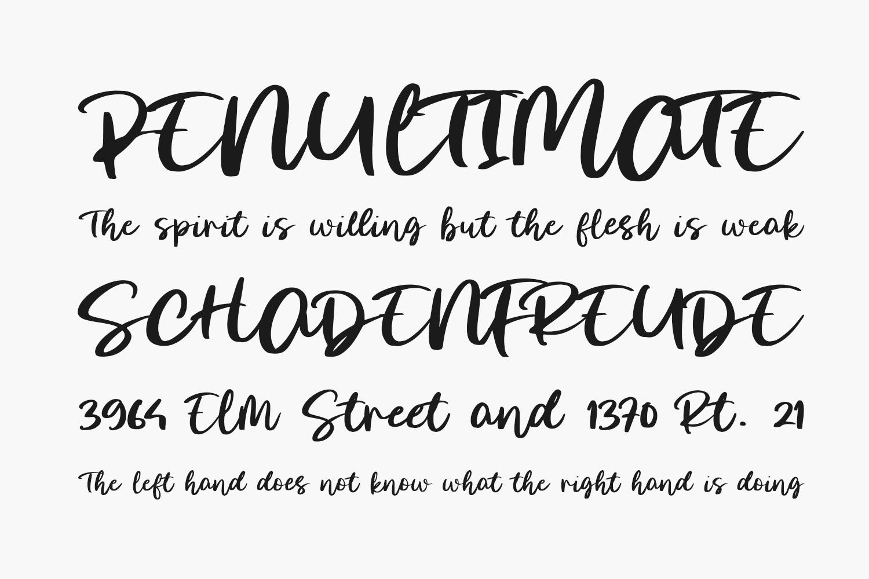 Morning Glow Free Font