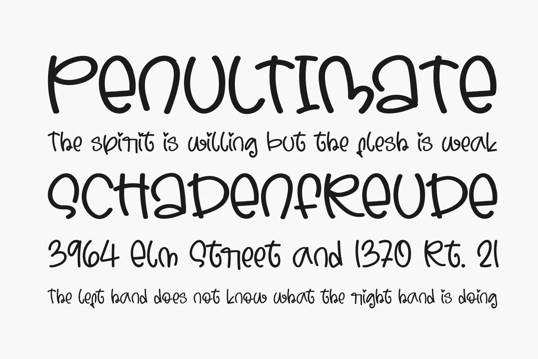 Morning Vibe Free Font