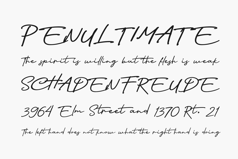 Nagietha Free Font