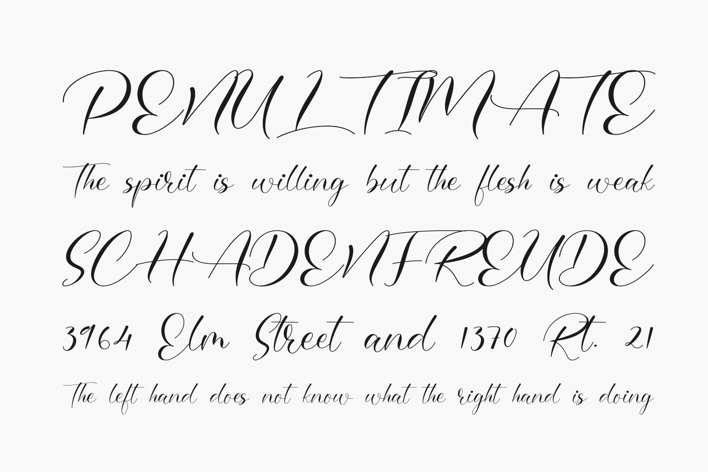 Omerlian Free Font