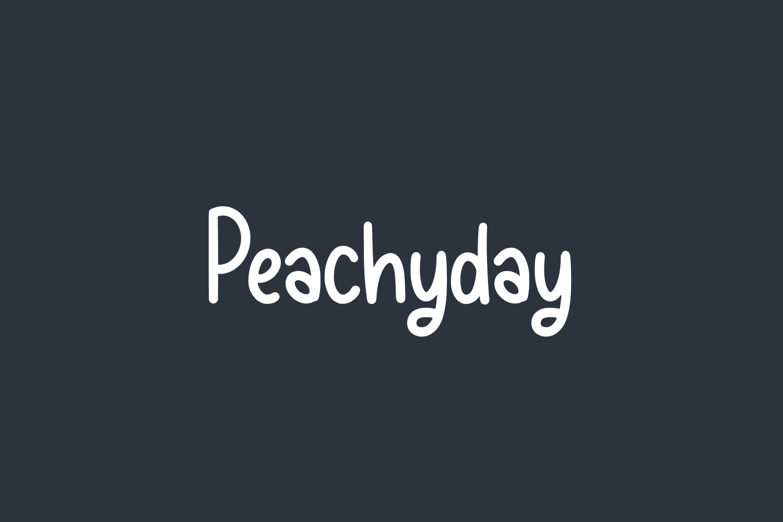 Peachyday Free Font
