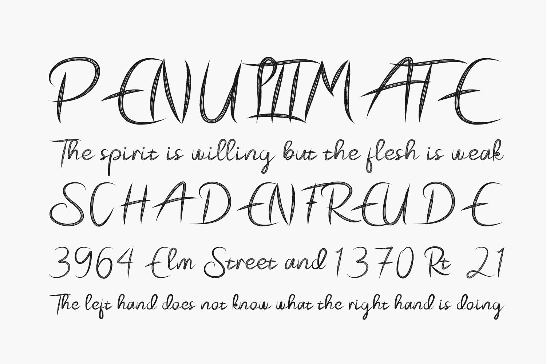 Pecattes Free Font