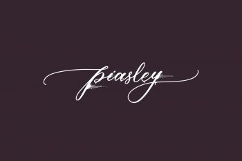 Piasley Free Font