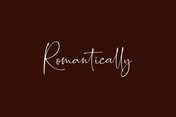 Romantically Free Font