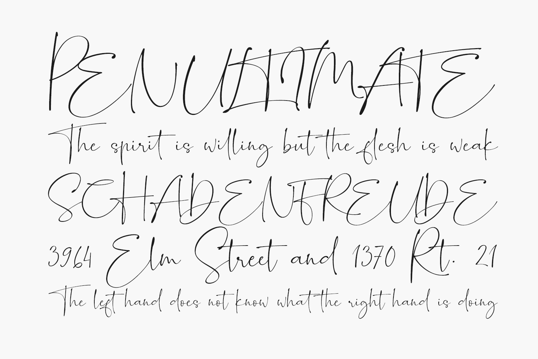 Romantically Free Font