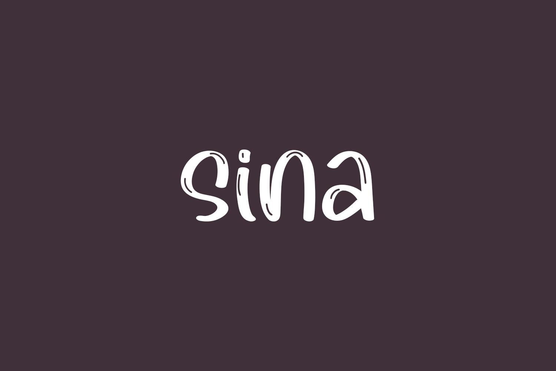 Sina Free Font