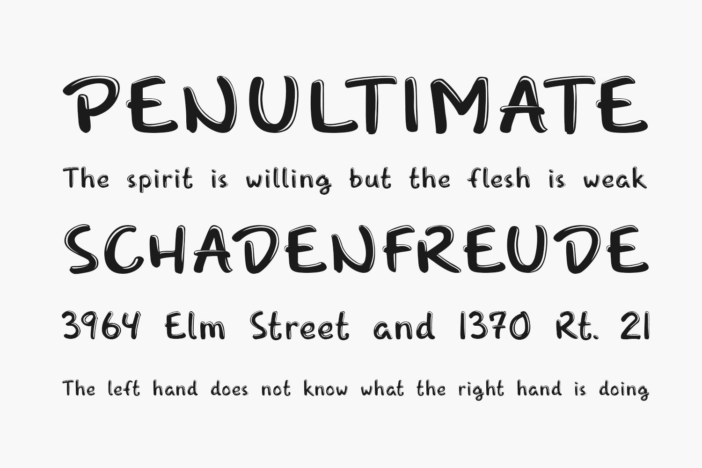 Snufkin Free Font