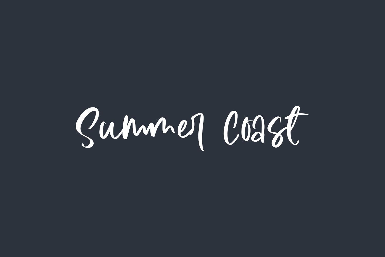 Summer Coast Free Font