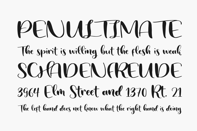 Sunday Snow Free Font