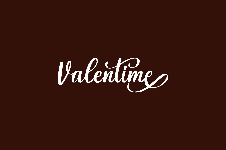Valentime Free Font